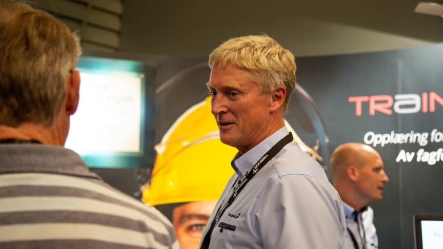 Trond Løfqvist i Trainor gleder seg til faglig engasjement og gode diskusjoner under årets fagsamling for energibransjen. Her fra fjorårets samling. Foto: Trainor