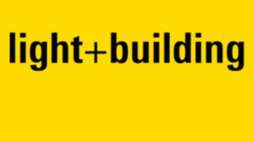 Light + Building 2020 flyttas till september