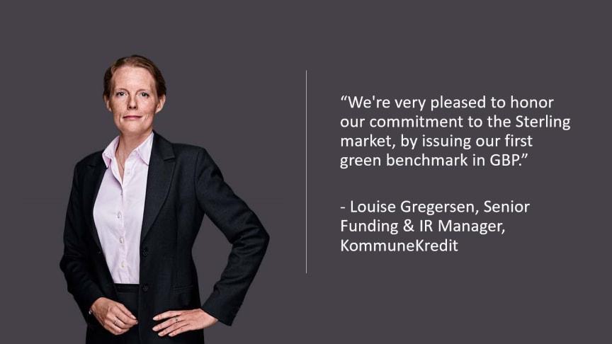 KommuneKredit launches first Green Bond in Sterling market