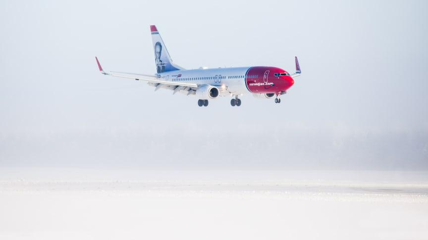La COVID-19 tiene un gran peso en los datos de tráfico de Norwegian de enero