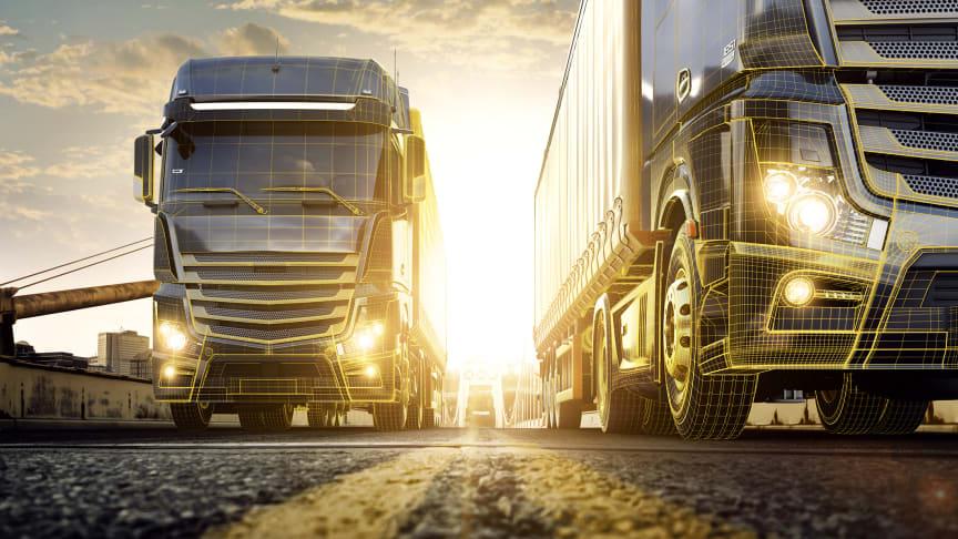Pressfoto: Continental har slagit ihop sitt utbud av tjänster för fordonsflottor och åkerier.