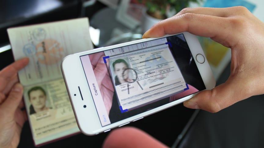 ID-Verifizierung mit der Genuine-ID App ©Tower PR