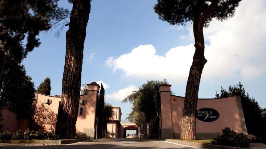 En av de viktigast vingårdarna i Roma DOC - Poggio Le Volpi
