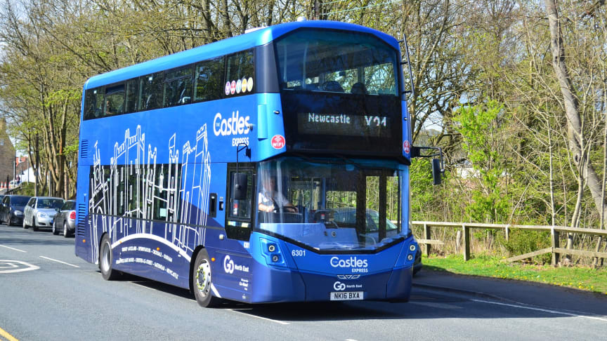 Go North East will be deploying extra buses on routes including the popular Castles Express X21