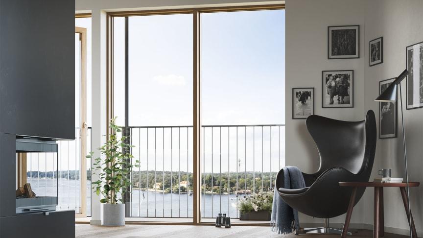 Inspirationen från det danska formspråket kommer naturligt med ett danskt arkitektkontor som partner.