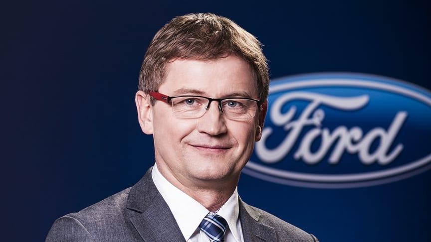 Bogdan Glod ny VD för Ford i Sverige