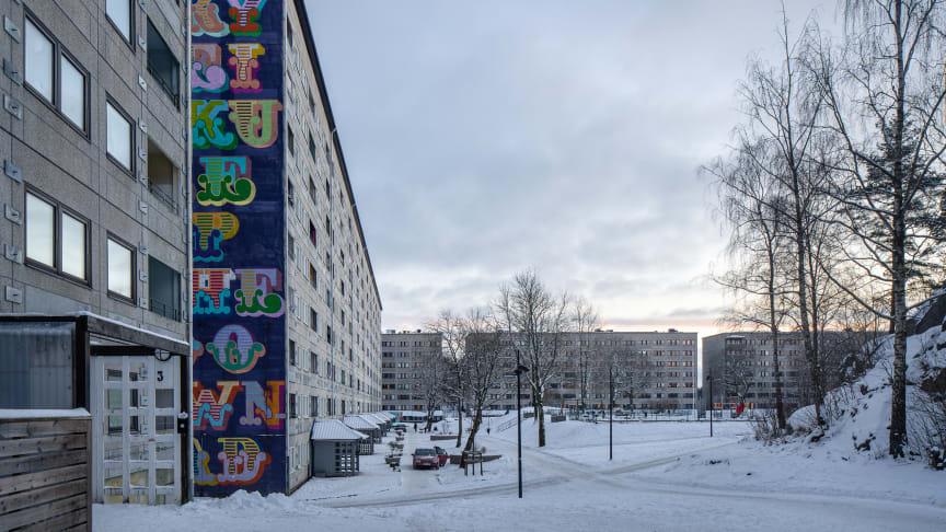 LINK Arkitektur har valts ut för att arbeta med trygghetsrenoveringen av Kv. Bredfjäll i Göteborg (foto: Felix Gerlach)