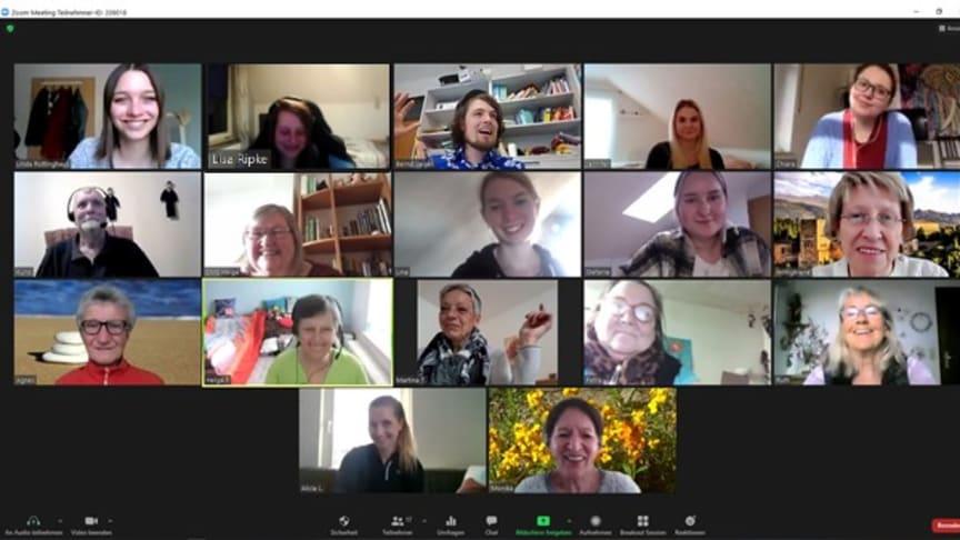 Virtuelle Konferenz - Quiz der Generationen zum bundesweiten Digitaltag