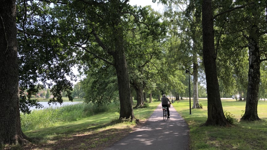Sundstaparken var en av parkerna som Karlstadsborna kunde tycka till om.