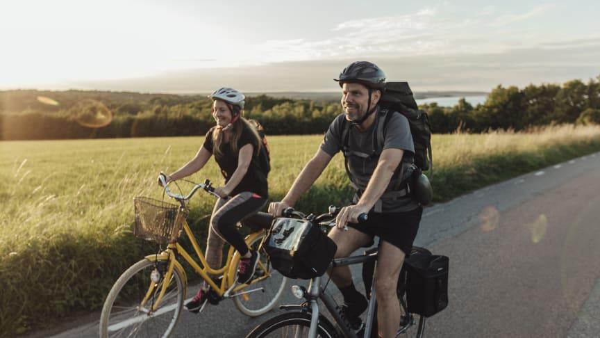 Sydkustleden ger helt nya upplevelser för cykelturisten