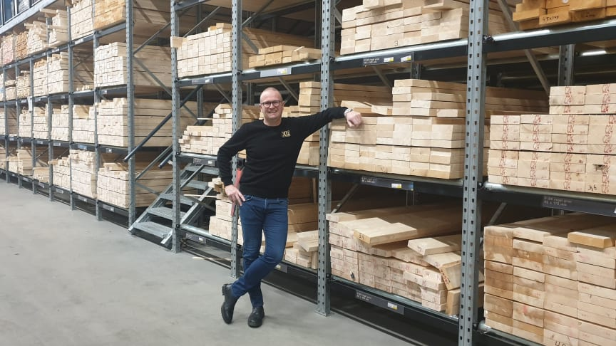 Jörgen Gustavsson är ny storkundsansvarig i västra regionen, på XL-Bygg.