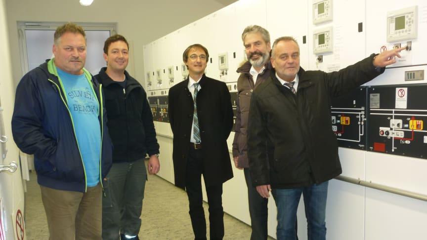 Neues Schalthaus in Eging am See schafft Platz für Klimaschutz