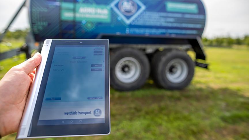 BPW bringt den Fahrwerkscomputer AGRO Hub mit digitalem Wiegesystem jetzt in Serie.