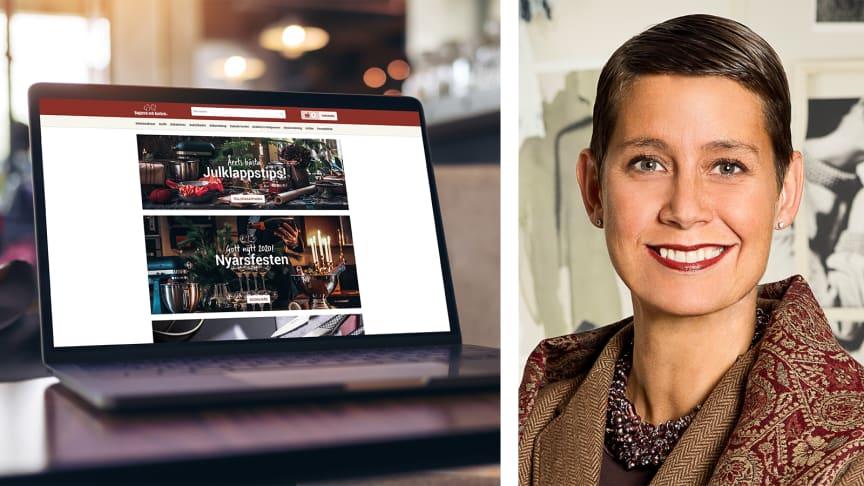Christina Ståhl ny VD i Bagaren och Kocken