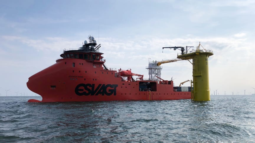With the 'Esvagt Dana', ESVAGT offers a newly built SOV that is tremendously adaptable and able to perform a wide range of tasks.