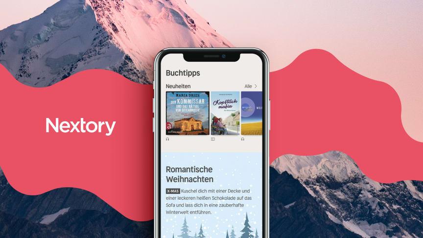 Nextory har lanserat i Österrike och Schweiz