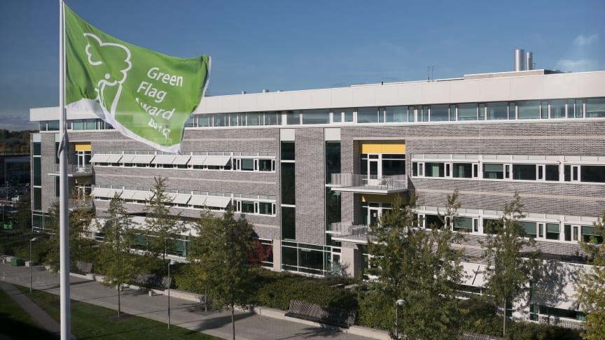 Campus Ultuna får Green Flag Award för tredje året i rad. (Foto: Jenny Svennås-Gillner/SLU)