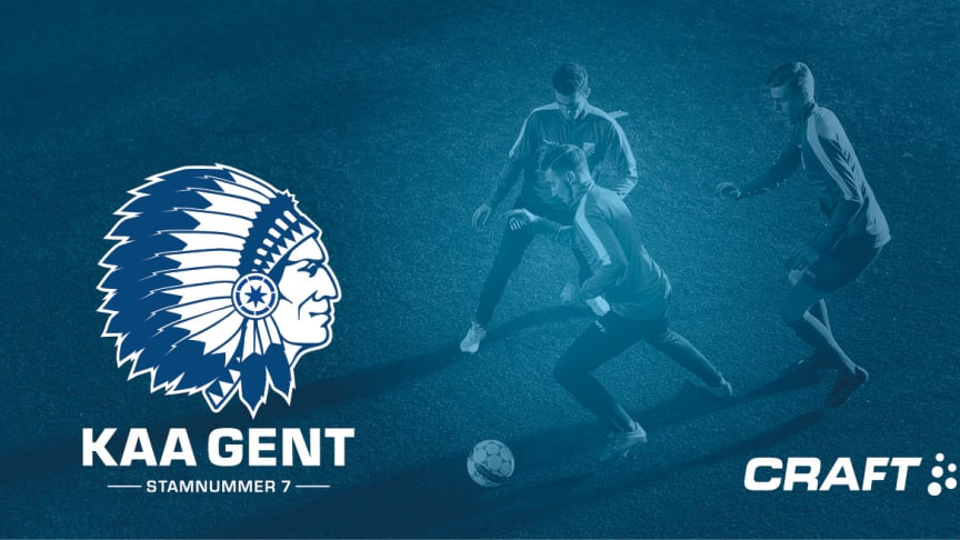 KAA Gent will play in Craft Sportswear apparel