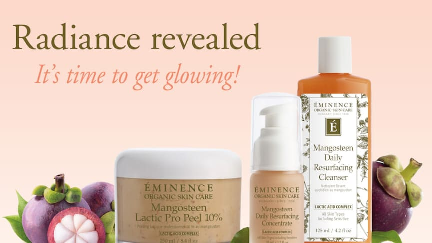 Éminence lanserar Mangosteen Lactic Acid Collection
