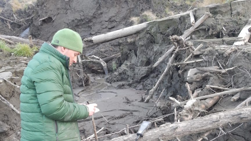 Ancient frozen carbon stores may cause vicious cycle of climate change