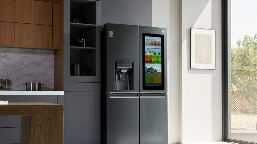 LG Instaview med UVnano-teknologi.