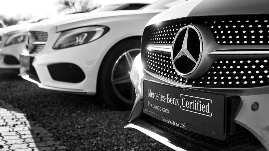 Nu kan kunder prøvekøre en Mercedes-Benz, hvor de vil