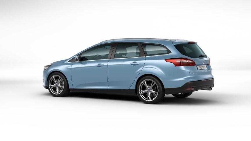 Ford Focus asettaa uuden vertailuarvon polttoainetaloudellisuuteen Euroopassa