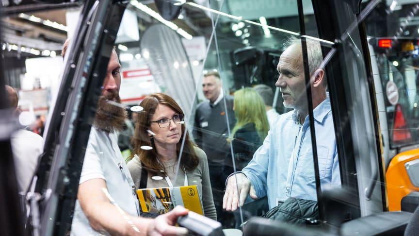 Självkörande och digitalt på årets Logistik & Transport