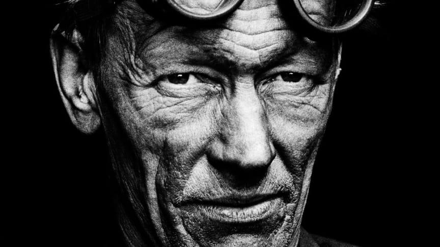 Utställningen porträtterar människorna som arbetade inom svensk industri kring slutet av 60-talet. Foto: Jean Hermanson.