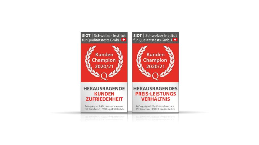 AutoScout24 holt sich Kundenchampion-Auszeichnungen des Schweizer Branchenmonitors