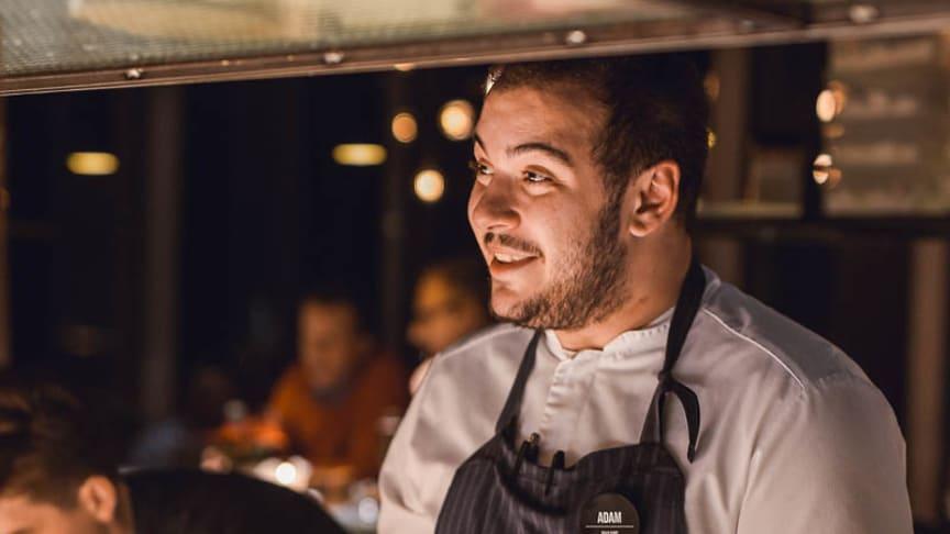 Adam Källman, Sous-chef på Kitchen & Table på Malmö Live