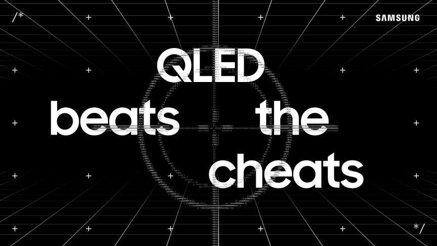 Samsung QLED Beats the Cheats