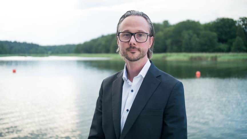 Rikard Mohlin, regionchef Mitt på Avarn Security.