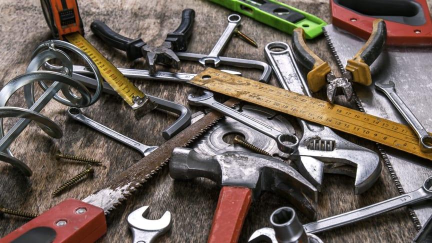 Med smidiga hjälpmedel blir det enkelt och tidseffektivt att strukturera verktygsparken. Foto: Freepik
