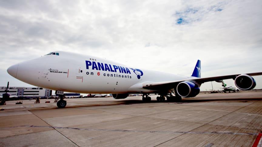 DSV Panalpina air charter Boeing 747-8F
