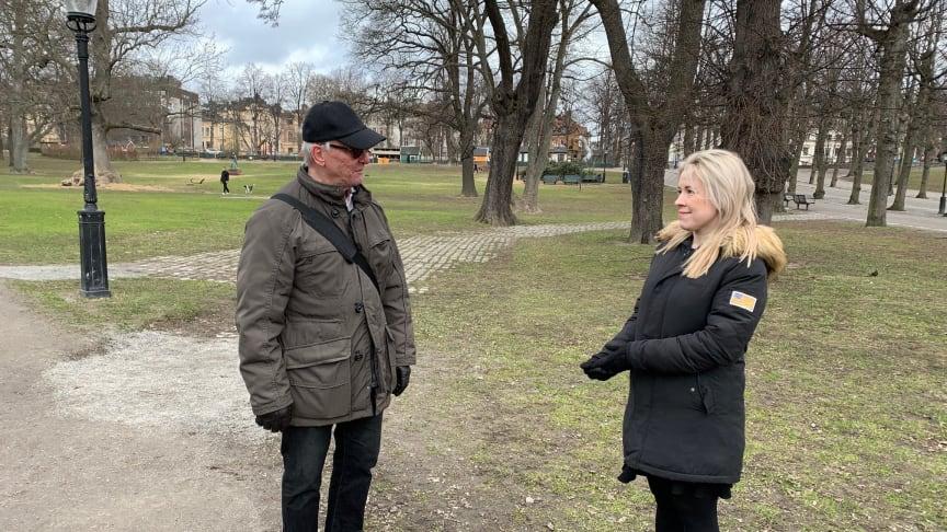 Klas Bergling och Andrea Hedin