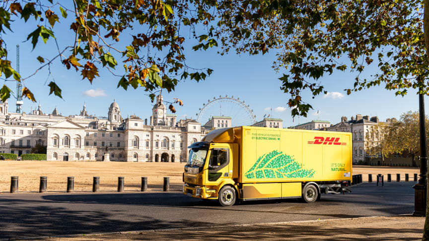 Klimatsmart tillval blir standard i DHL Freights nya miljösatsning