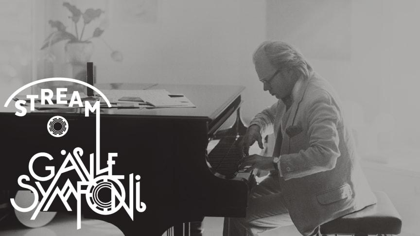 Gävle Symfoniorkester streamar Beethovens tredje pianokonsert