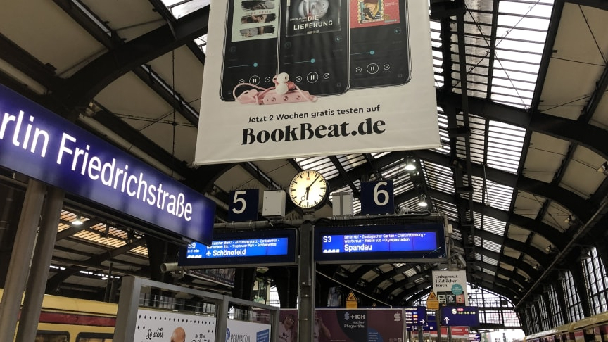 BookBeat, Berlin, Bahnhof Friedrichstraße, 2019