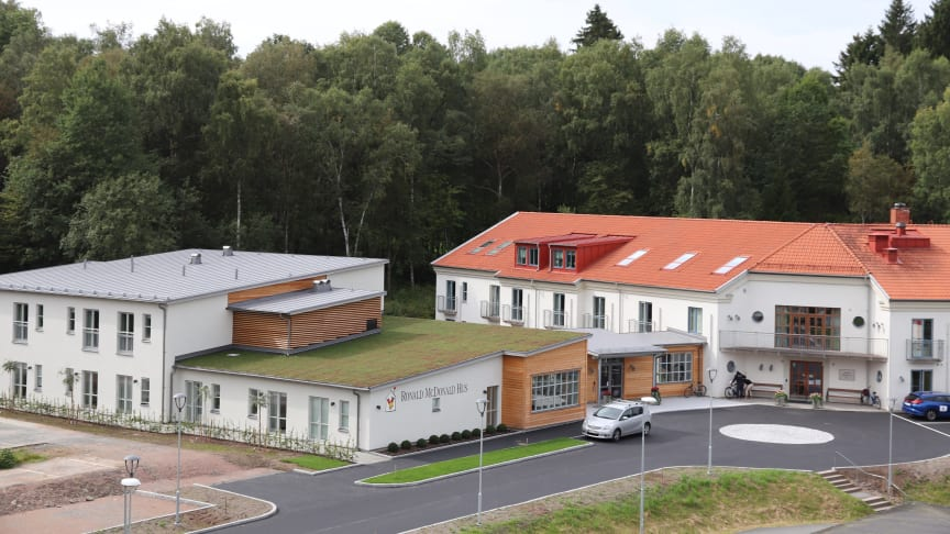 Ronald McDonald Hus i Göteborg renoverar – och väljer FM Mattsson 9000E till samtliga badrum