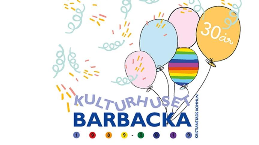 I höst blir det jubileum på Kulturhuset Barbacka!