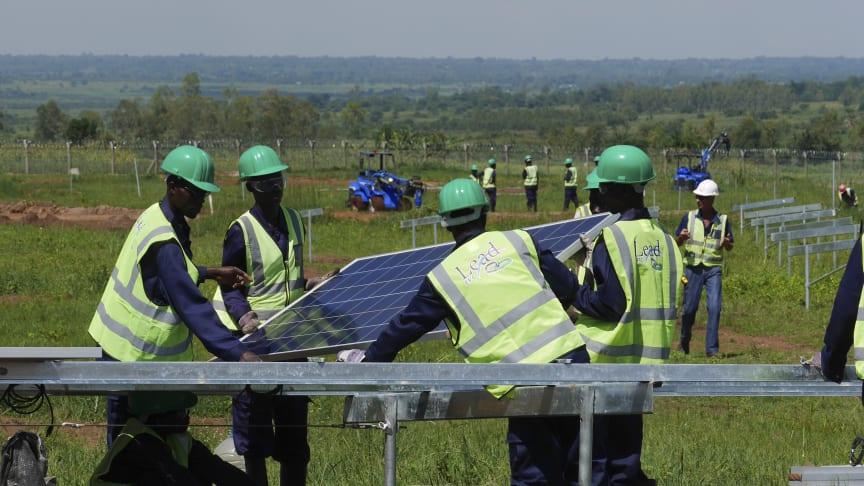 Fra GET FiT-prosjektet i Uganda.