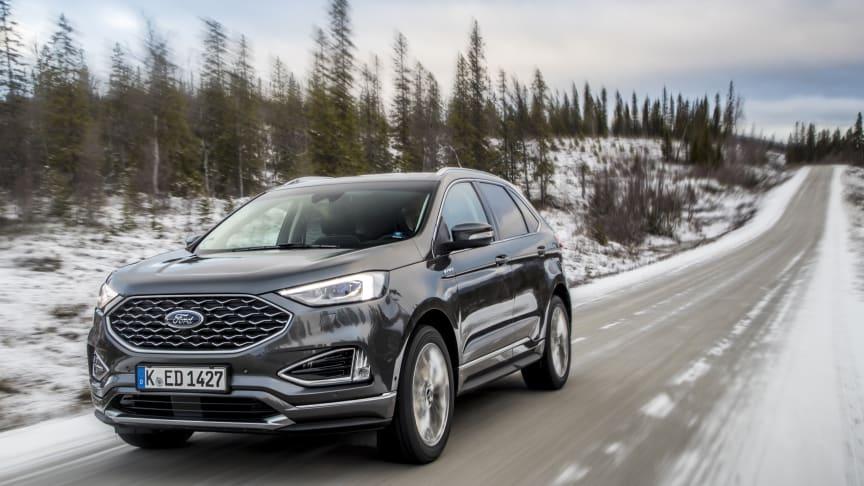Nå er nye Ford Edge klar for Europa