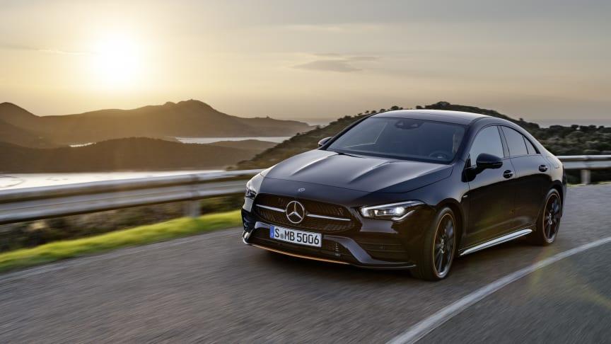 Netop præsenteret i Las Vegas: Den ny Mercedes-Benz CLA coupé