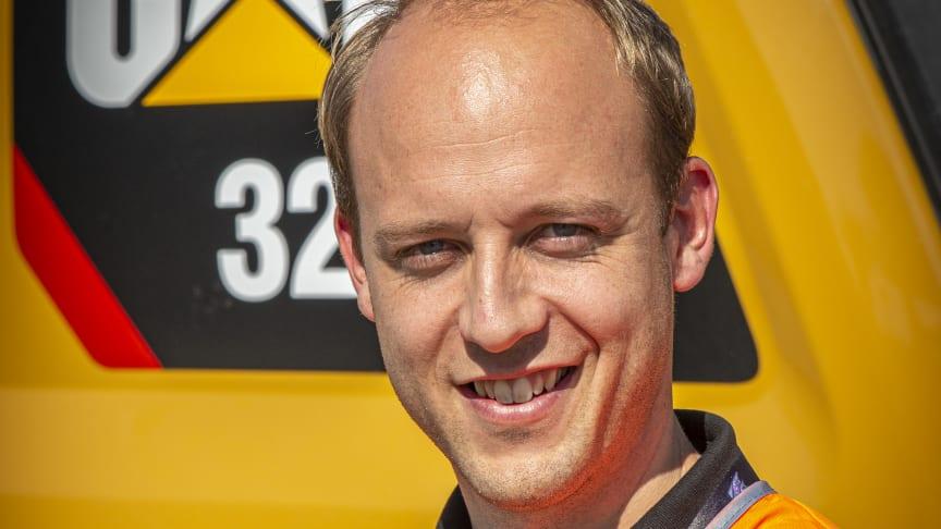 Thomas Gerlach, ny General Manager för Zeppelin Sveriges affärsområde Construction.