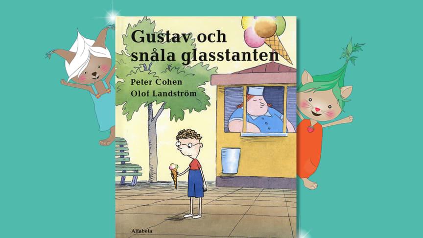 Gustav och snåla glasstanten vinner Förskolebarnens litteraturpris 2020