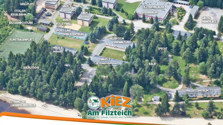"Lageplan KiEZ ""Am Filzteich"""