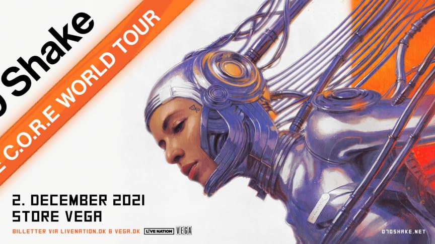 """070 SHAKE  """"To the C.O.R.E World Tour"""" I STORE VEGA TORSDAG 2. DECEMBER 2021"""