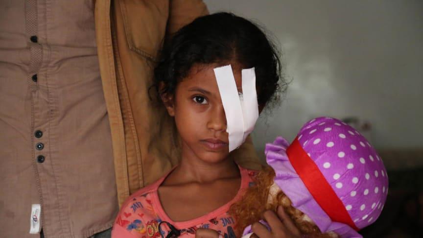 Nytt poddsläpp från Rädda Barnen Dokumentär:  Flest människor som behöver hjälp för att överleva finns i Jemen