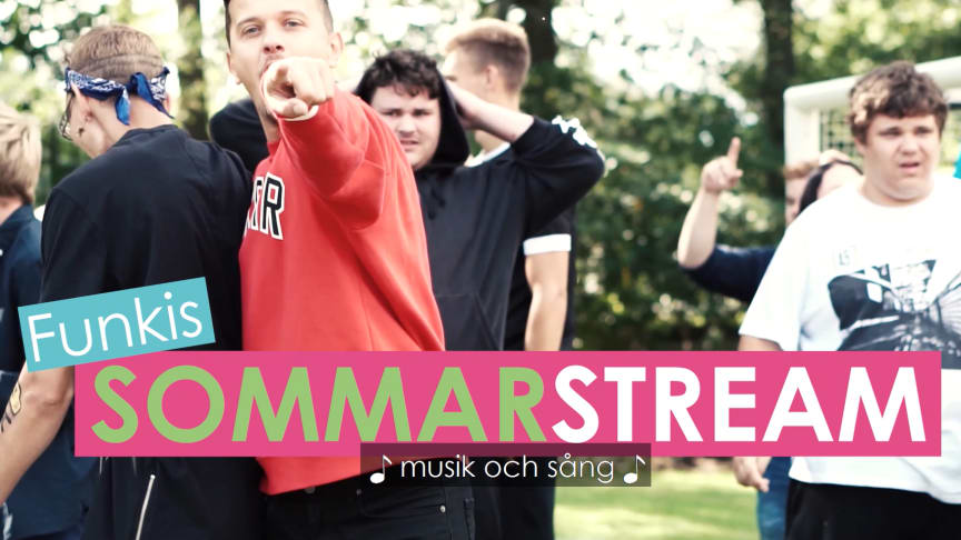 Funkis Sommarstream – digital sommarfestival för personer med funktionsvariation